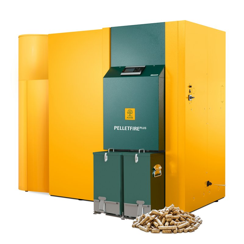 KWB Pelletfire Plus Pellet heating 45 - 135 kW