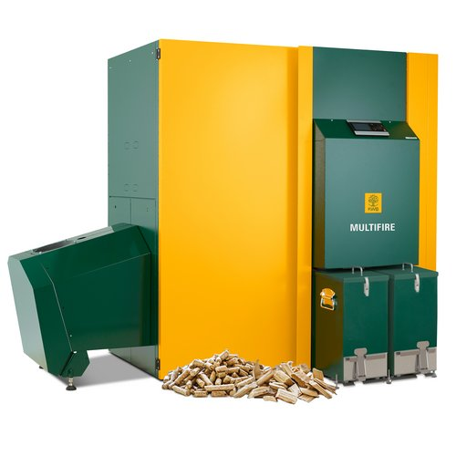 Wood chip fired heating systems are truly economic solutions as wood chip is a regional product.